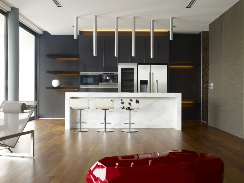 Black And White Modern Kitchen Ideas Part - 16: Chartwell Group